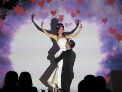 свадебный танец, шоу для первого танца