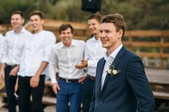 свадебная церемония на Балтийском море