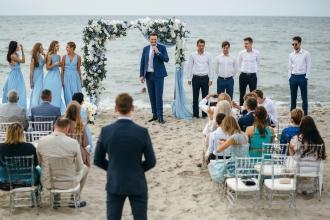 свадьба на море в Калининграде