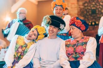 фольклорный коллектив на праздник