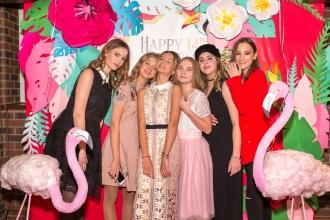 фотозона фламинго на день рождения
