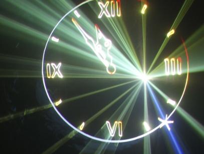 лазерное шоу в Калиининграде