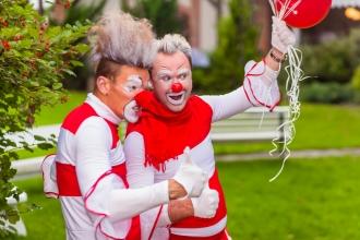 мимы клоуны на день рождения