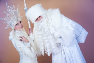 Крутой Дед Мороз на корпоартив в Калининграде заказать