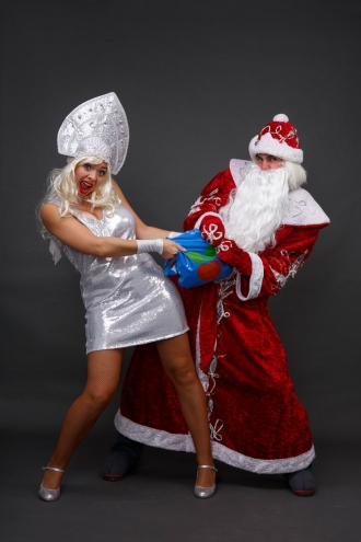 Крутой Дед Мороз  в Калининграде заказать на корпоратив 2018