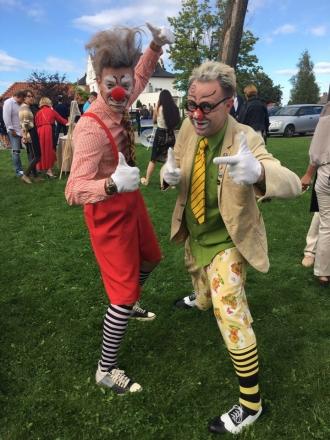 Клоуны на вэлком