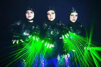 крутое шоу на праздник Калининград
