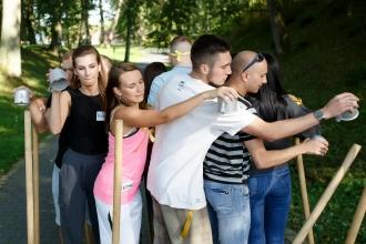 Крутой тимбилдинг и квест в Калининграде