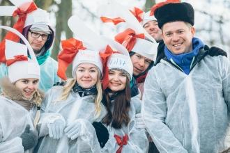 новогодний тимбилдинг в Калининграде