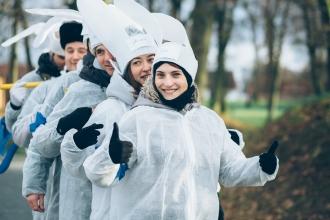 зимний тимбилдинг в Калининграде